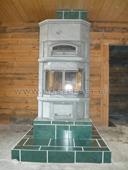 печь-камин туликиви серии ktlu с дымоходом шидель серии уни