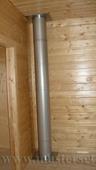 печная 2\к труба сендвич на втором этаже, прохождение деревянных перекрытий
