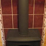 печка йотул ф3 с трубой в черной термокраске